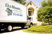 EkoMovers, sustainable moving firm that uses a reusable alternative to the cardboard box; Geami Wrap, a biodegradable packaging to protect fragiles; and reusable furniture covers and mattress bags.