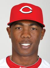 Aroldis Chapman, pitcher for the Cincinnati Reds