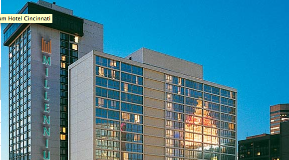 The Millennium is Cincinnati's tier 1 convention hotel.