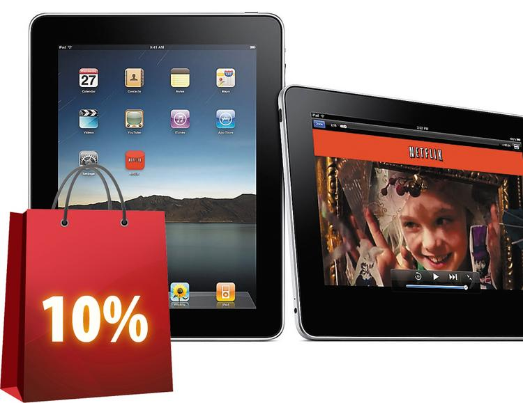 No. 1: Apple's iPad is the most in-demand gadget this year.