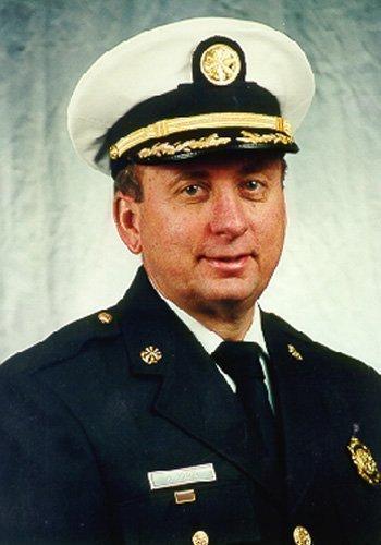 Richard Braun, newly appointed Cincinnati fire chief