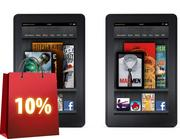 No. 1: Tied for first with the Apple iPad is Amazon's Kindle Fire.