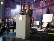 Ky. Lt. Gov. Jerry Abramson talked about how the development could benefit the region.