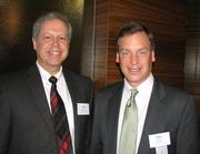 Jeff Rankin, president of Process Plus and Mike Brooks of Humana
