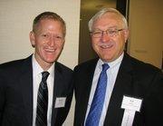 Ryan Rybolt, president of Infintech LLC, and Ed Diller, partner-in-charge at Taft Stettinius & Hollister.