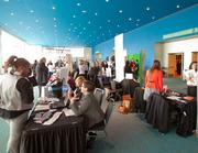 The Best Places to Work event included an expo.