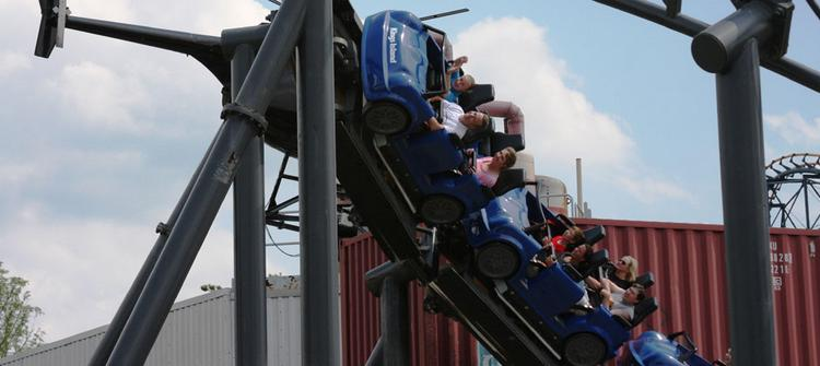 No. 10: Backlot Stunt Coaster - 721,448