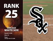The White Sox's highest-paid player is Jake Peavy at $16 million.