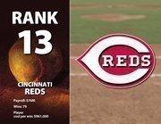 Cincinnati's highest-paid player is Francisco Cordero at $12.1 million.