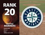 Seattle's highest-paid player is Ichiro Suzuki at $18 million.