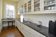 The large butler's pantry at Carneal House is great for entertaining large groups of people.