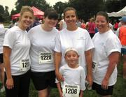 Employees from Cincinnati Eye Institute took part in a race.