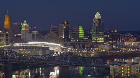 Cincinnati ranks as a tax-friendly city.