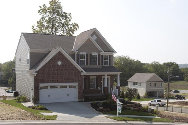 This is one of the model homes from CitiRama 2012, which was held in Virginia Place in Northside.