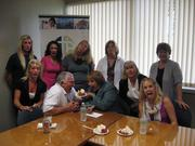 There must be something in the strawberry shortcake at Clark-Theders Insurance Agency Inc.