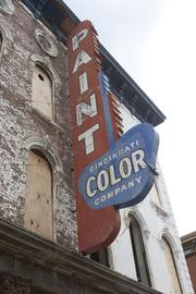 Over the Rhine's Color Building got new life this year, thanks to a 3CDC redevelopment project. The iconic building will be home to a sushi restaurant and development company.