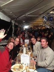 Definity Partners associates enjoyed an Oktoberfest outing.