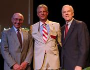 From left, John Goering, founder of the Goering Center for Family and Private Business; Tom Flottman, CEO of the Flottman Co. and Larry Grypp, president of Goering Center. Flottman was presented with the 2011 Keith Baldwin Volunteer Award.