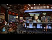Here's a look at what the bar will look like when completed