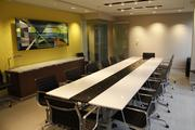 One of the conference rooms in First Financial's headquarters building in downtown Cincinnati.