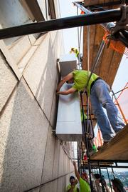 The total installation time is estimated to be about two weeks.(Courtesy Steve Ziegelmeyer)