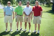 (From left to right) Matthew Curran, Luxottica; Erick Clark, Thompson Hine LLP; Phil Rielly, BioRX; Randy Broyles, BioRX