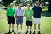 (From left to right) Paul Loebig, Clarke Power Services Inc.; Garry Moore, Clarke Power Services Inc.; Don Mendelson, Thompson Hine LLP; and Kirk Andreae, Clarke Power Services Inc.