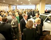 About 550 people gathered at the Hyatt Regency Cincinnati downtown for the 2012 Health Care Heroes event.