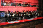Another one of the fully stocked bars at Igby's in downtown Cincinnati.