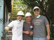 Integrity Express Logistics associates participate in philanthropic projects together.