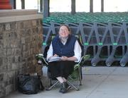 Jennifer Mullis, Amelia, 36, will be the first person to enter thestore. She was willing to wait 28 hours; she started the line on Monday, Sept. 24 at 7 a.m. for that honor.