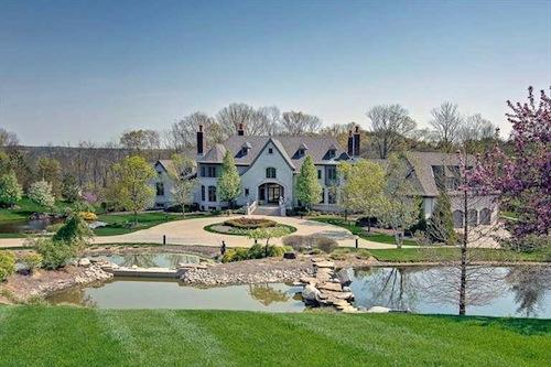 The home at 8200 Kroger Farm Road is listed for $3.95 million.