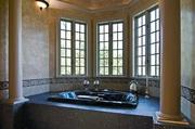 Here's a look at the tub in the master bath.