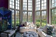 The home has a solarium.