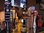 Here's a look at some of the beers on tap at Local's.