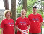 Members of Messier-Bugatti USA who participated in the Cincinnati Heart Mini Marathon.