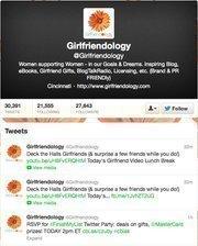 No. 10: Girlfriendology@GirlfriendologyOnline community for women25,371 Cincinnati-area followers