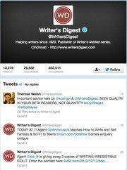 No. 2: Writer's Digest@WritersDigestWriter's Digest publisher284,985 Cincinnati-area followers