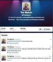 No. 3: Tre Melvin@TreMelvinYouTube personality253,732 Cincinnati-area followers