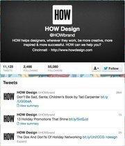 No. 7: HOW Design@HOWbrandGraphic design site44,194 Cincinnati-area followers