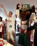 Competitive eating champ <strong>Chestnut</strong> to return for Oktoberfest-Zinzinnati