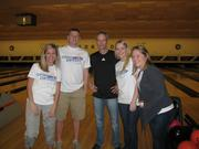 Bowling with the Paycor crew.