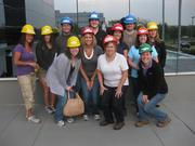 These Phillips Edison associates are well protected at their administrative retreat.