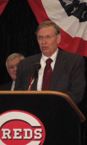 MLB Commissioner Bud Selig made the official announcement that Cincinnati will host the 2015 All-Star Game.