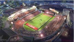 Nippert Stadium, UC