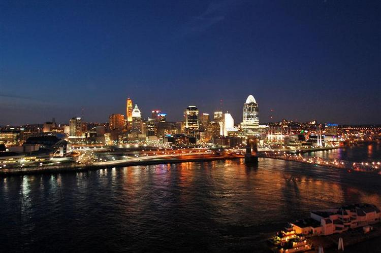 Cincinnati was ranked the ninth smartest city in the United States by Movoto blog.