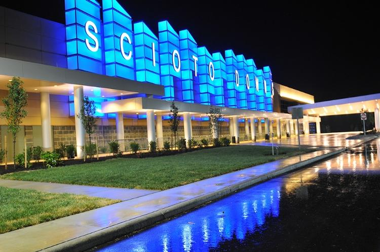 Columbus' Scioto Downs turned a profit of $9.2 million in the first quarter, helping parent MTR Gaming Group improve from a loss in 2012 of $3.2 million to a loss last quarter of $786,000.