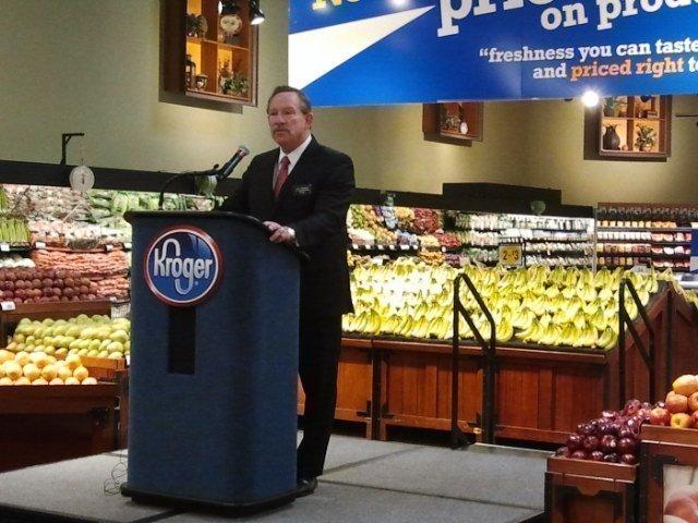 Scott Hendricks, vice president of merchandising for Kroger in the Cincinnati/Dayton market, said about 3,500 items will have lower prices starting Feb. 4.