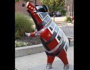 "Name: ""A Street Pig Named Desire""Location: Washington ParkDesigner: Conan GibsonSponsor: The city of Cincinnati"
