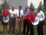 Procter & Gamble cuts ribbon on innovative planning center